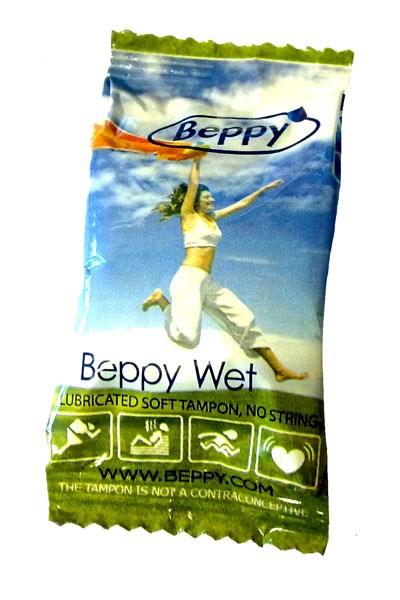 Beppy Wet Soft-Comfort Tampons (Inhoud: 4 stuks)