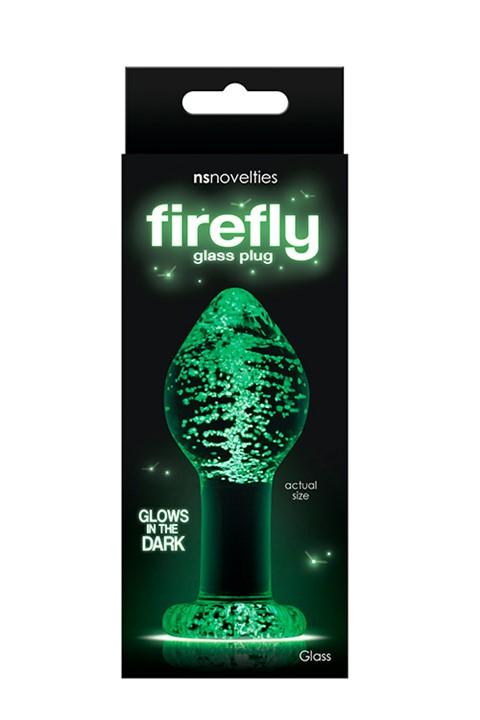 Firefly Large glazen anaalplug