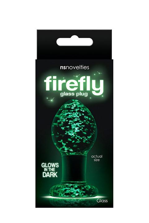 Firefly Medium glazen anaalplug