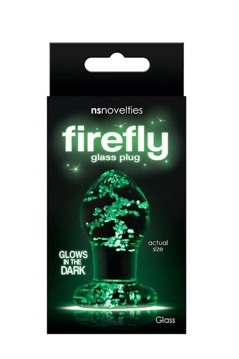 Firefly Small glazen anaalplug