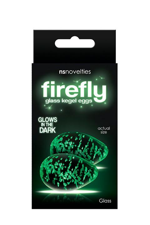 Firefly glazen kegel eitjes