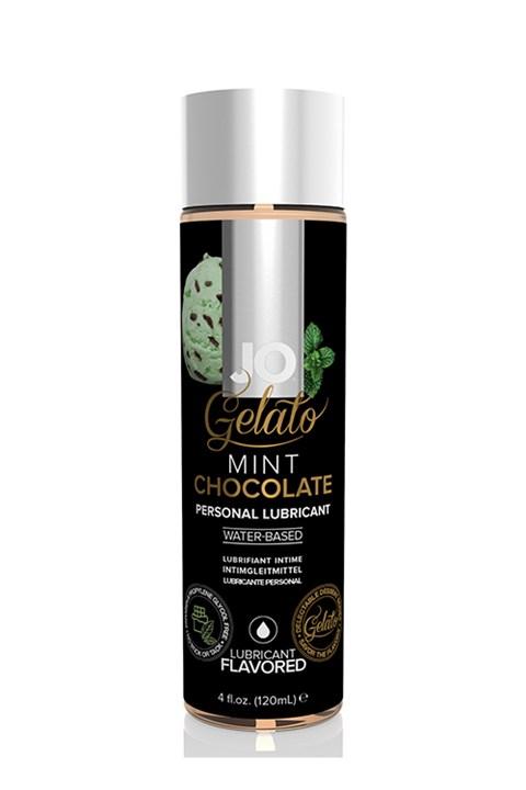 Jo Gelato Mint Chocola glijmiddel (Inhoud: 120 ml)