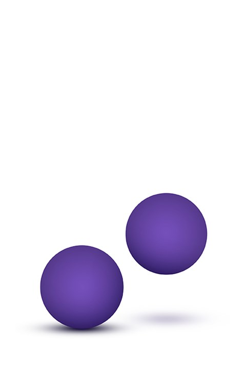 Luxe Double-O kegelballen 23gr (Kleur: Paars)