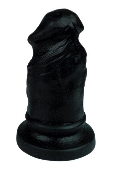 Plug & Joy penis anaalplug (Kleur: Zwart)