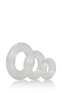 Premium siliconen cockring set