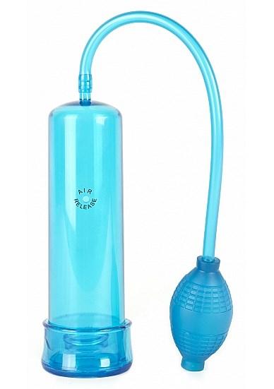 Shots Toys Releazy penispomp (Kleur: Blauw)