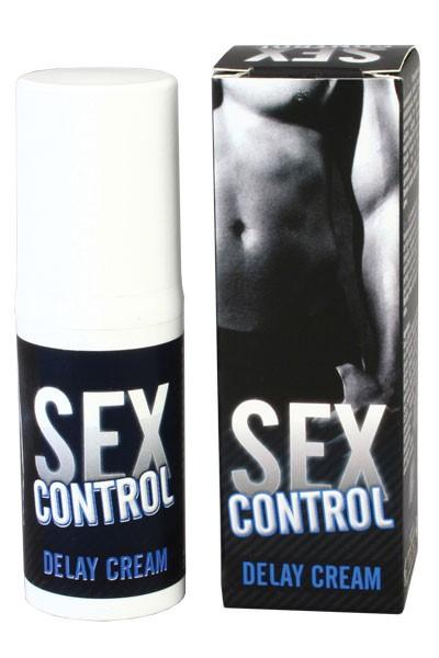 Seks Control Crème voor mannen