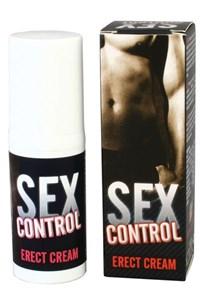 Seks Control Erectie Crème