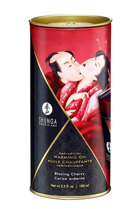 Shunga Aphrodisiac Olie (Geur: Exotic Green Tea)
