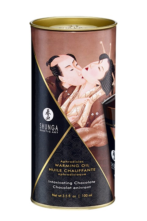 Shunga Aphrodisiac Olie (Geur: Intoxicating Chocolate)