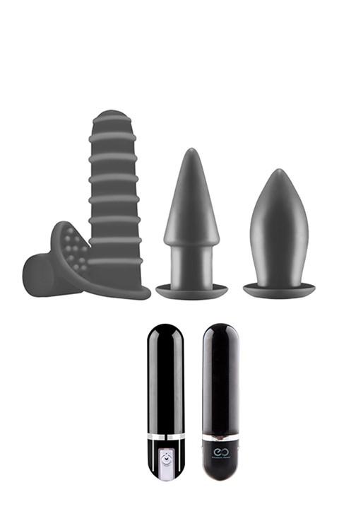 Tutti siliconen anaaltoys kit