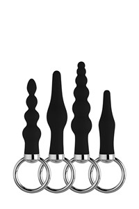 Ultimate zwarte buttplug set