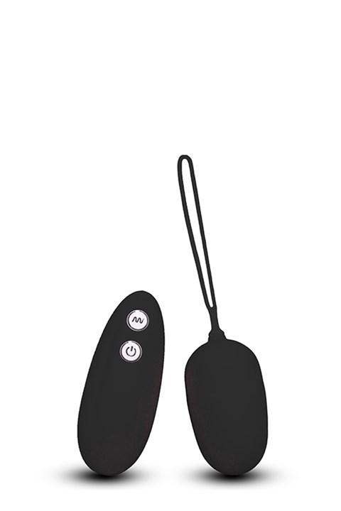 Ultra 7 vibrerend eitje (Kleur: Zwart)