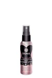 Dona shimmer spray