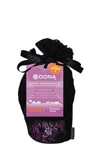 Dona verlangen kado set met badzout en luxe spons