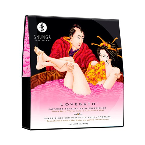 Sensuele badgel (Geur: Draken Fruit (roze))