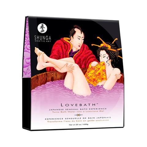 Sensuele badgel (Geur: Sensuele Lotus (paars))