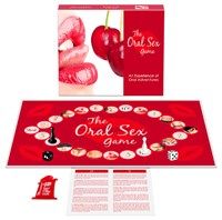 Het orale seks spel