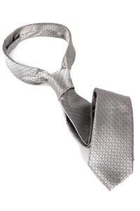 50 Tinten Grijs Christian Grey zilveren stropdas