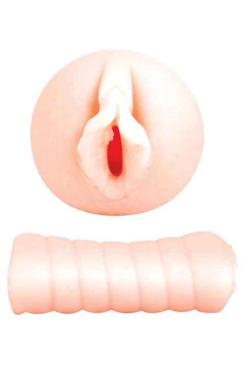 Gladde vagina to-go masturbator