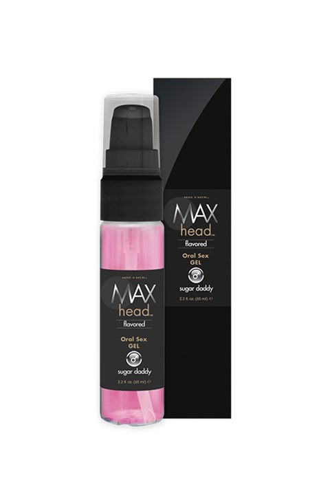 Max orale sex gel (Smaak: Salted caramel)