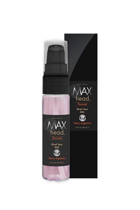 Max orale sex gel (Smaak: Berry orgasmic)