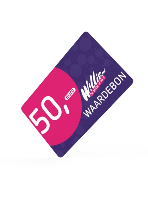 Willie kadokaart 50 euro