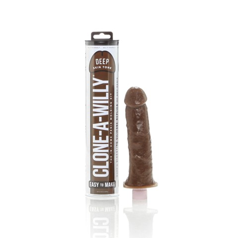 Clone-A-Willy vibrator (Deep Skin Tone)