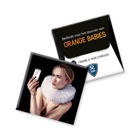 Frank E Hollywood condoom voor Orange Babies