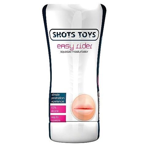 Shots Toys Oral Squeeze masturbator
