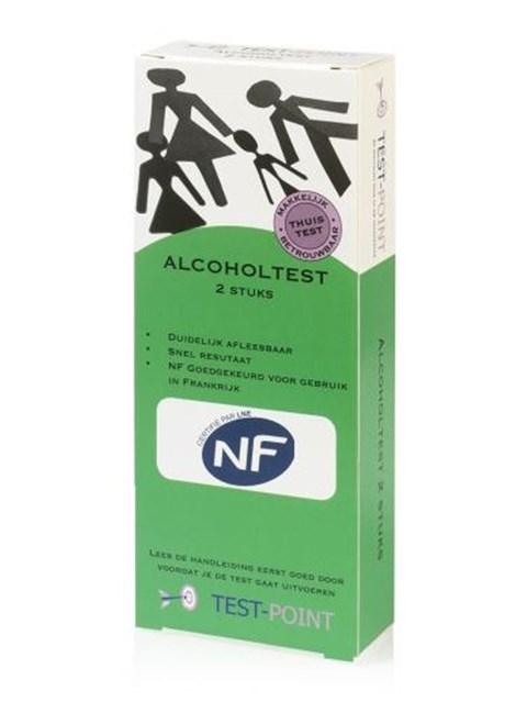 Alcoholtester (2 stuks)