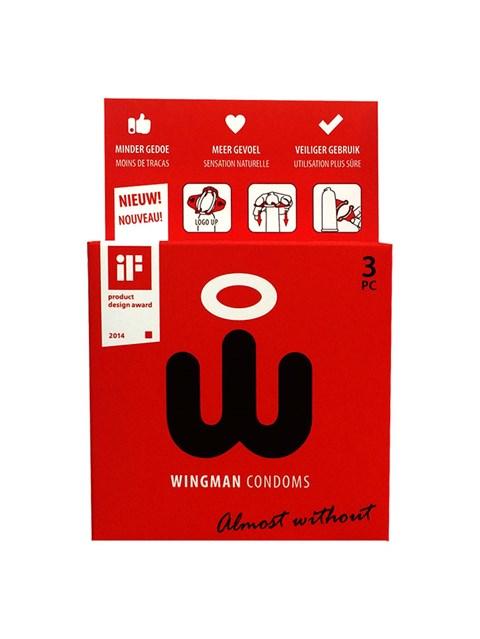 Wingman condooms - 3 stuks