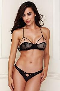 Baci Lace Brallete lingerie set