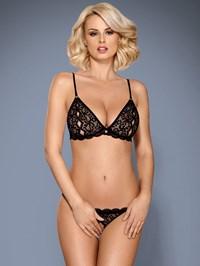 Obsessive lingerie set met peek-a-boo string