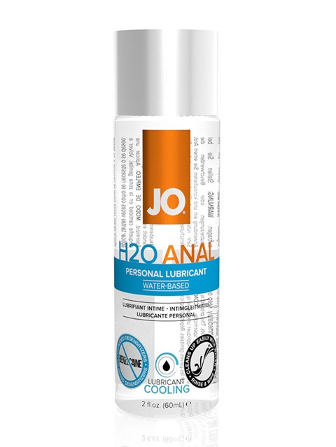 JO H2O Anaal Cool glijmiddel (Inhoud: 60 ml)
