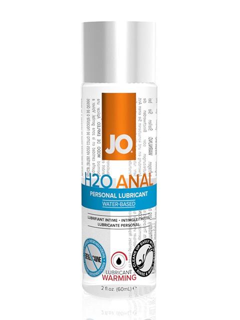 JO H2O Anaal verwarmende glijmiddel (Inhoud: 60 ml)