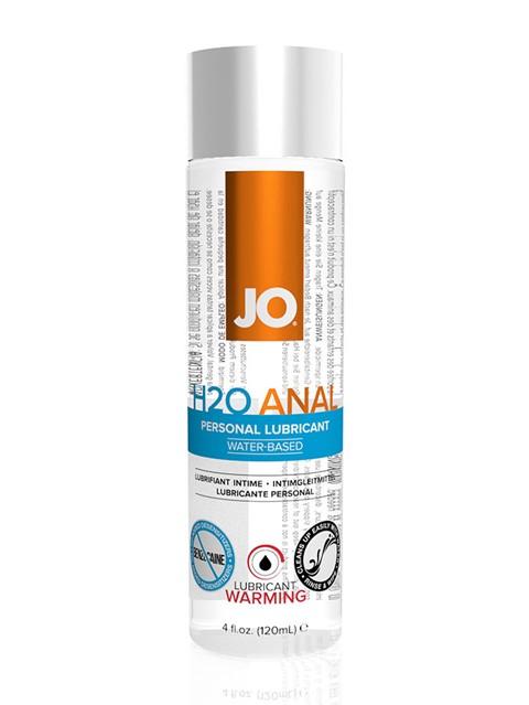 JO H2O Anaal verwarmende glijmiddel (Inhoud: 120 ml)