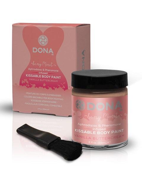Dona kissable body paint (Smaak: Aardbei)