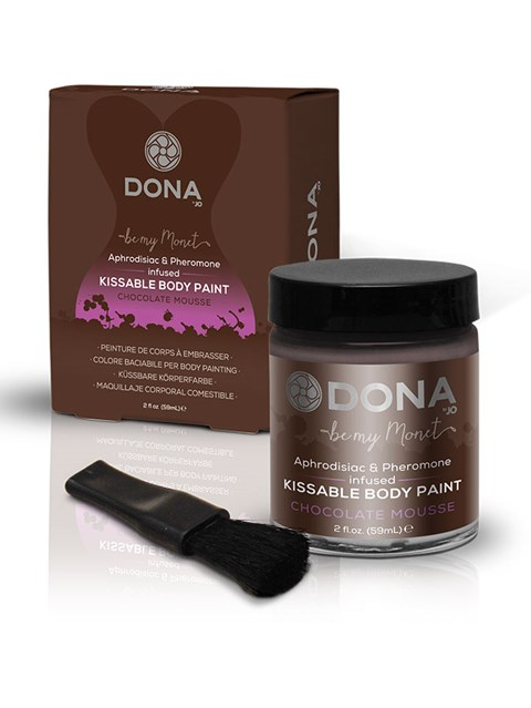 Dona kissable body paint (Smaak: Chocola)