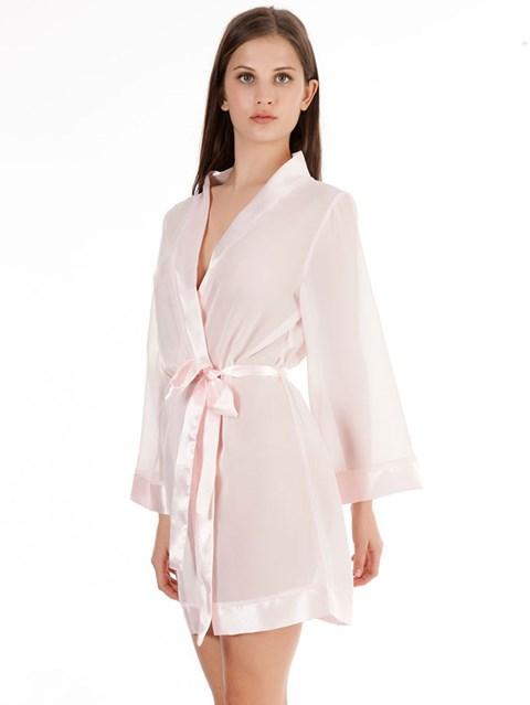 Bluebella roze Chiffon kimono (Maat: S)