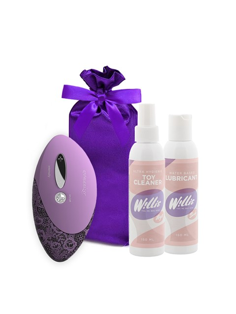 Womanizer Pro Stimulator (Lavendel) voordeelpakket