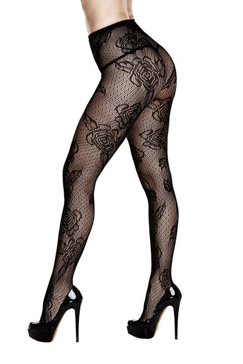 Baci Lace panty (Zwart) (Maat: One Size)