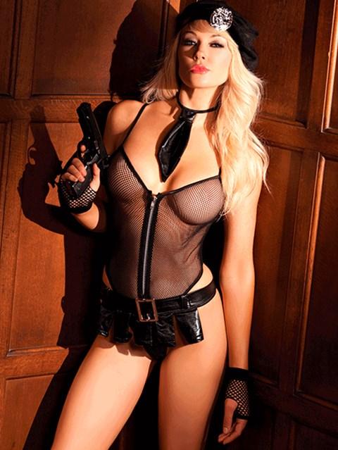 BeWicked slaapkamer politie-uniform (Maat: S/M)