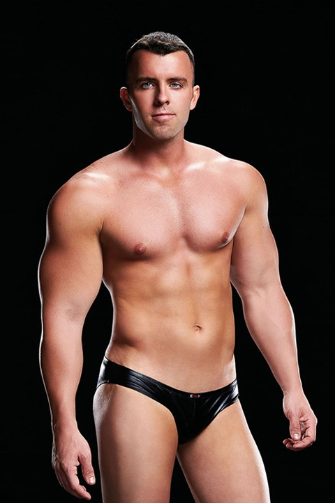 Envy Low-Rise Brief Wetlook jockstrap (Maat: L / XL)