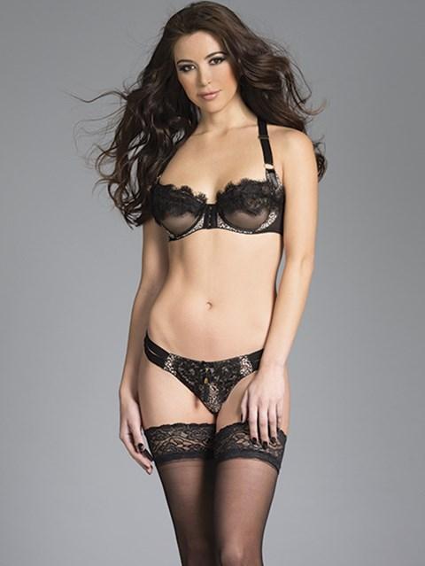 BeWicked Elizabeth lingerie set (Maat: L)
