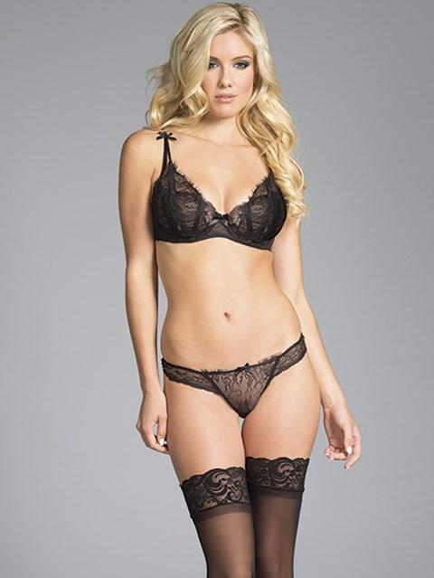 BeWicked Scarlett lingerie set (Maat: L)