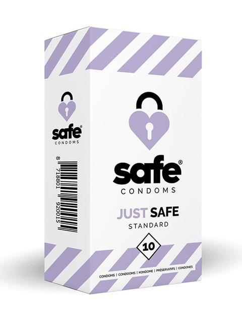 Just safe condooms (standaard) (Aantal: 10 stuks)