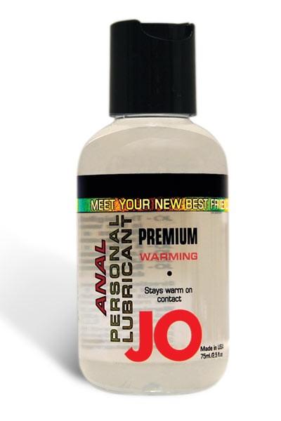 JO Anaal Premium Verwarmende glijmiddel (Inhoud: 120 ml)