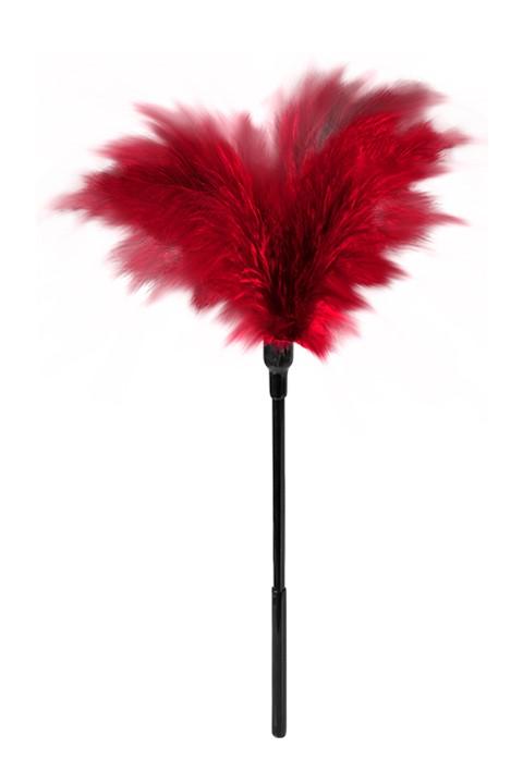 Kleine veren kietelaar (Kleur: Rood)
