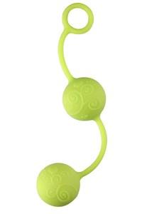 Plezier duo ballen (groen)